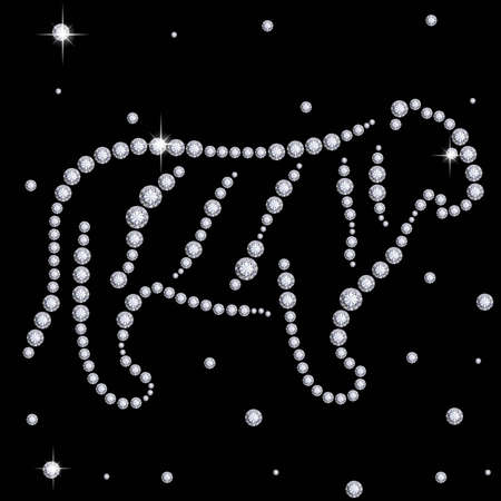 astrological: Diamond tiger