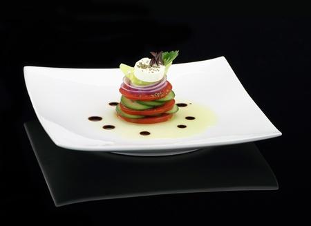 greek chef: Gourmet Vegetables salad