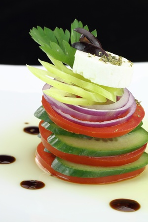 Gourmet Vegetables salad photo