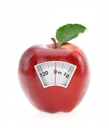 lose balance: Diet concept