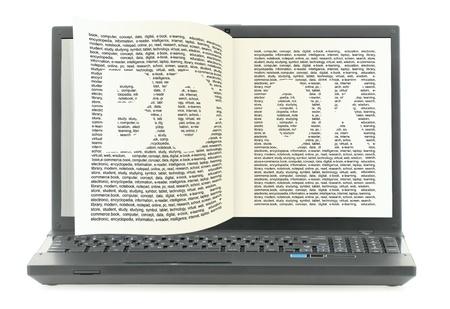 Digital library photo