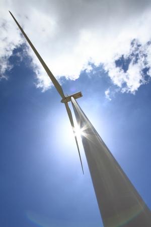energy conservation: Wind turbine generator