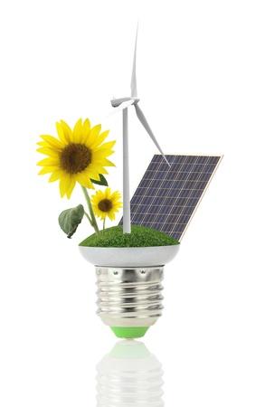 energy bio: Renewable energy Stock Photo