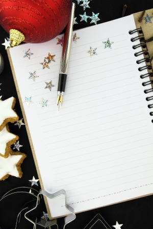 recipe decorated: Christmas recipe book