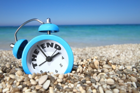 the end of time: End of summer Stock Photo