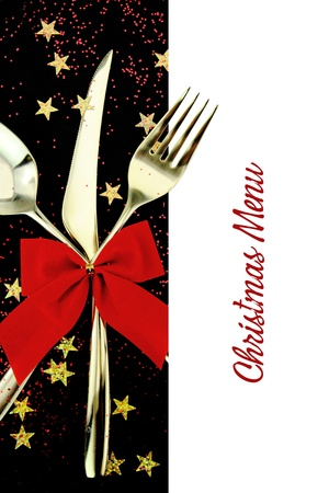 Christmas menu Stock Photo - 15117058