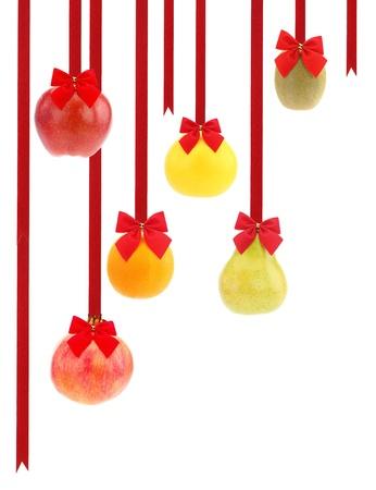 Frutas de Navidad Foto de archivo - 15545010