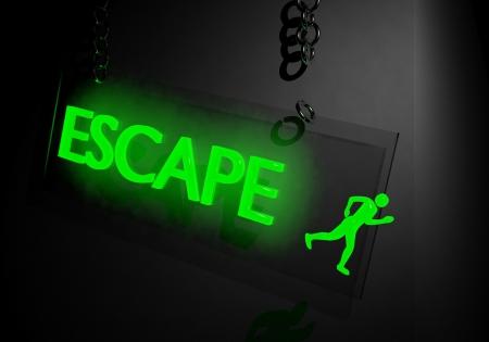 prison break: Escape concept