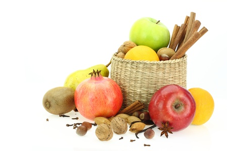 Winter healthy food  Stock Photo - 15545205