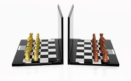 cyber warfare: Play Chess online