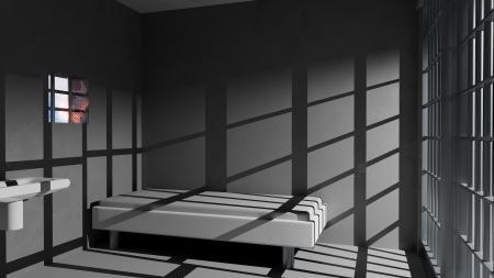prison cell: Cellule de prison