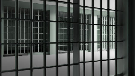 criminal act: Prison interior