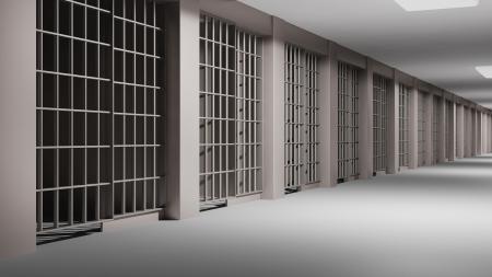 correctional: Prison interior
