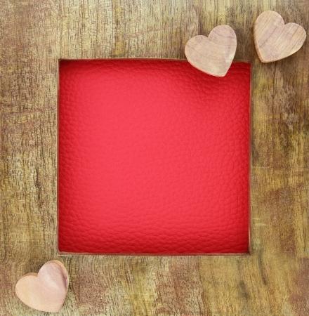 anniversaire mariage: Cadre en bois amour