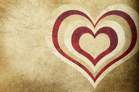 Love grunge textured background photo
