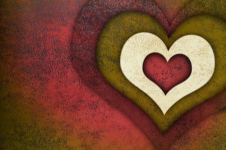 Love grunge textured background photo