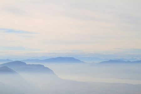 Blue Ridge Mountains: Scenic view of blue ridge mountains
