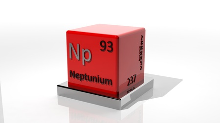 protons: Neptunium, 3d chemical element of the periodic