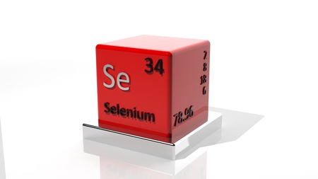 protons: Selenium, 3d chemical element of the periodic
