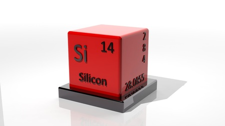 isotope: Silicon, 3d chemical element of the periodic