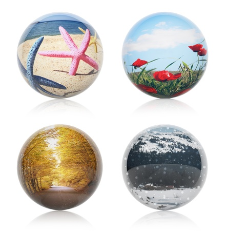 Four seasons concept photo