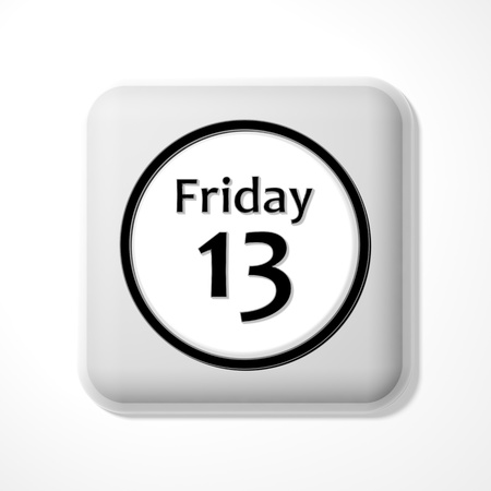 weekday: Friday the 13th icon