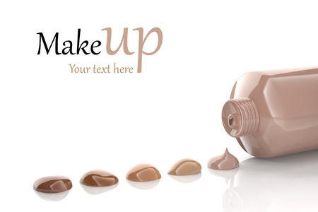 cosmetic cream: Foundation shades