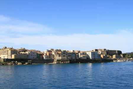 Scenic view Corfu (the old town) photo