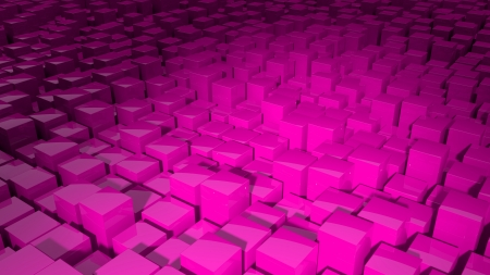 mov: Abstract cubes background