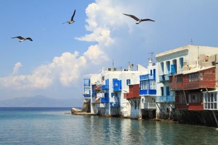 myconos: Little Venice of Mykonos, Greece