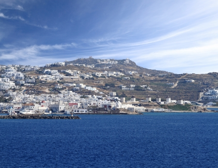 myconos: The town of Mykonos island in Greece Stock Photo