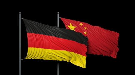 Relationship between Germany and China photo