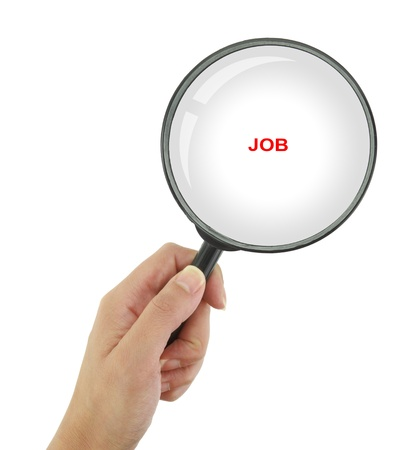 looking for a job: Looking for a job Stock Photo