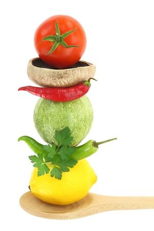 alimentacion balanceada: Cocinar con verduras