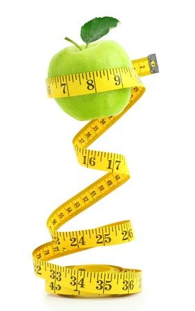 cintas metricas: Dieta equilibrada con frutas