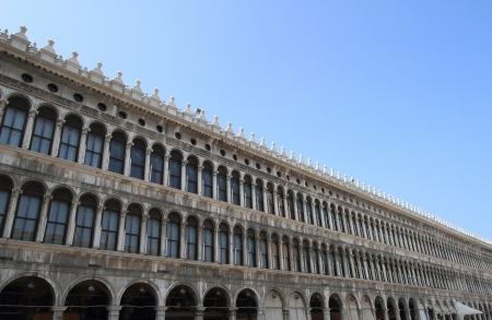 Piazza San Marco in Venice, Italy  photo