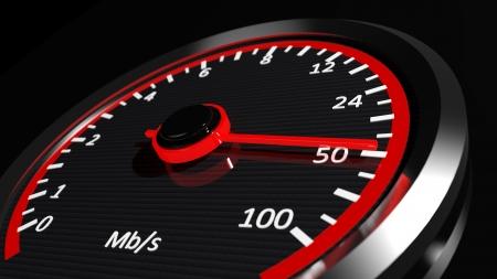 internet speed: Internet speed