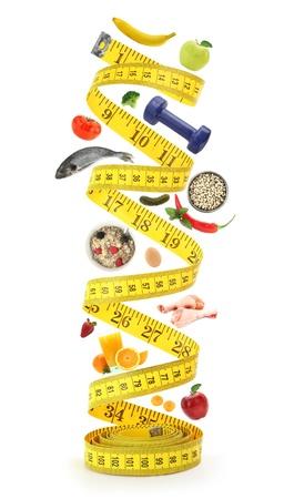 diabetes: Concepto de estilo de vida saludable