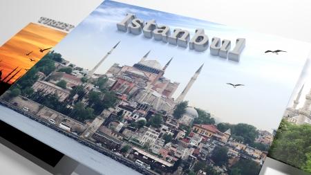 diaporama: Turquie visites en diaporama comme s�rie de photos et de texte 3d