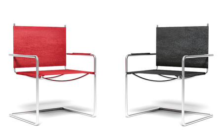 office chairs: Two office chairs, business concept