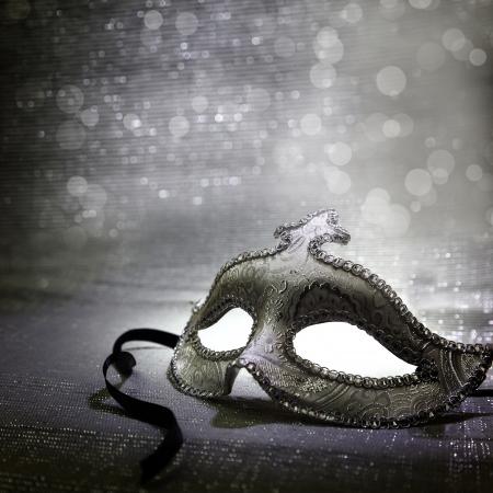 Vintage Venetiaans carnaval masker Stockfoto