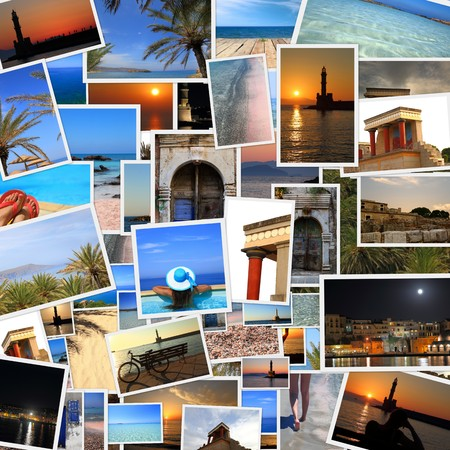 Collection of Crete island photos  photo