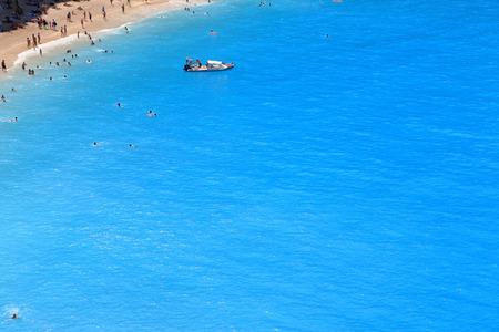 Porto katsiki beach in Lefkada, Greece  photo