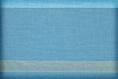 Decoratieve stof achtergrond. Plakboek, fotoboek begrip