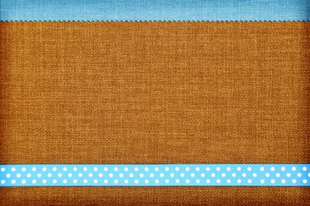 Decorative fabric background. Scrapbook, photobook concept Stock Photo