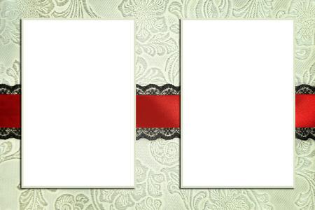 35395015 decorative template with photo frames scrapbook photobook concept