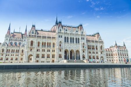 hungary: Budapest Hungary, Parliament exterior