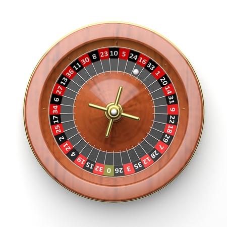 rueda de la fortuna: ruleta en blanco background.from anteriormente