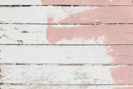 Viejo grunge pintado de madera de la textura del tablón
