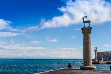 rhodes: Mandraki Harbour, Rhodes Greece